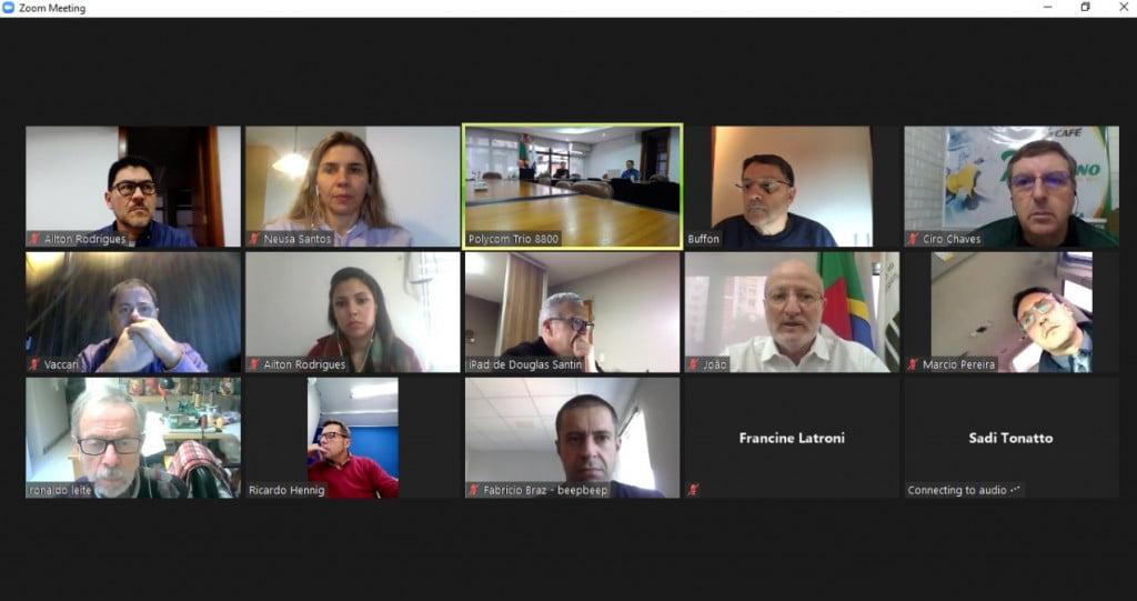 Sindicato realiza reunião de Diretoria de forma híbrida